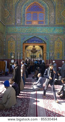 The shrine of Imam Abbass