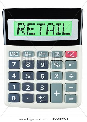 Calculator With Retail