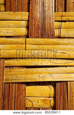 Thailand   Bamboo In The Temple Kho Phangan Bay Asia And