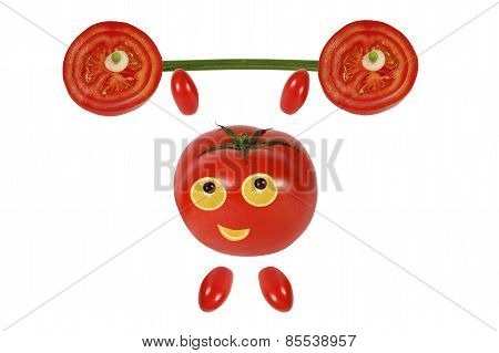 Little Funny Tomato Raises The Bar