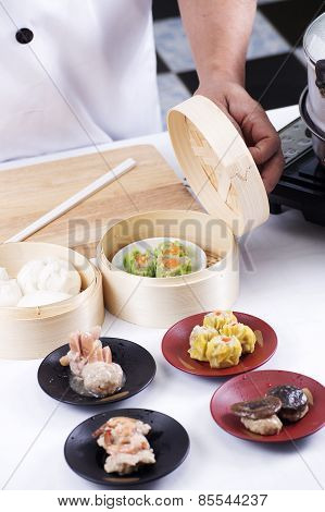 Chef Presented Chinese Dim Sum