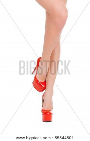 Beauty In High Heeled Shoes.