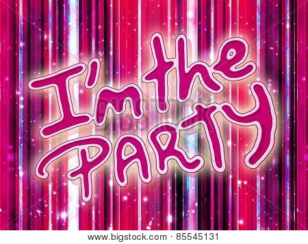 Luxury Party Dreams Futuristic Abstract Design