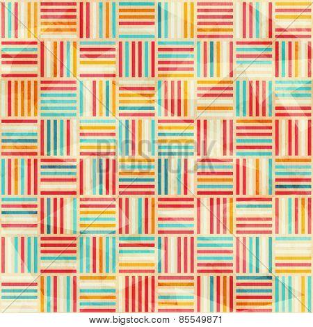 Vintage Wattle Seamless Pattern
