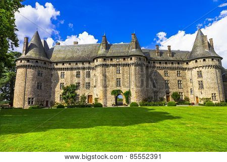 castles of France -chateau of Madame de Pompadour