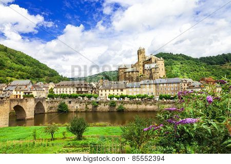 Estaing- one of the most beautiful villages of France