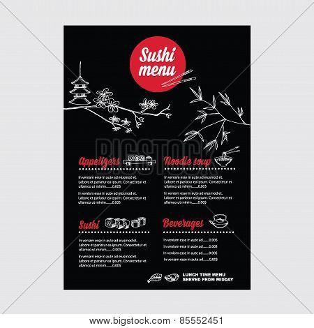 Restaurant Cafe Menu, Template Design.vector Illustration.