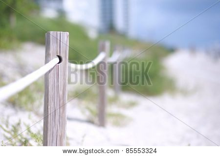 Miami Beach Rope Stanchions