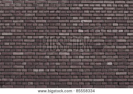 Coffe Bar Brown Brick Wall Background