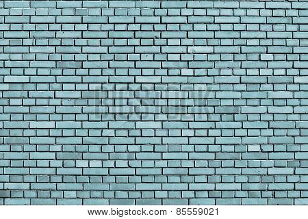 Ocean Liner Colored Brick Wall Background