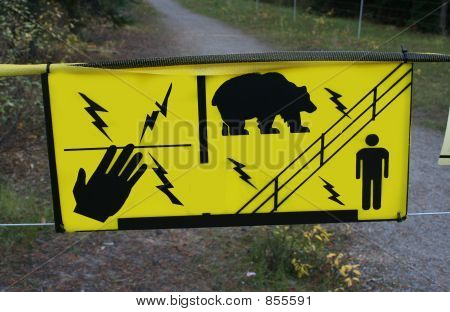 electrified bear fence