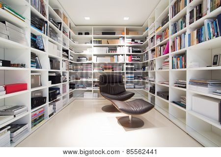 Private Library At Home