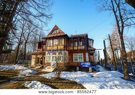 Wooden Villa In Zakopane, Poland