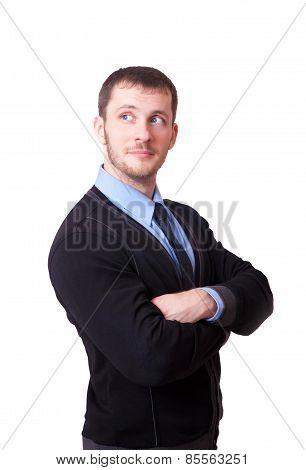 Attractive Man Looking Away