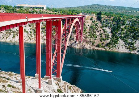 bridge in Croatia