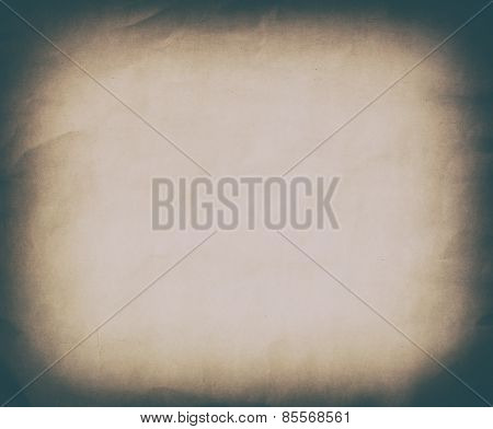 Gold Sepia Grunge Vintage Old Paper Background