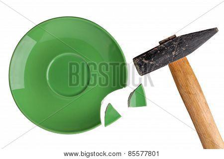 Broken Plate  Hamme