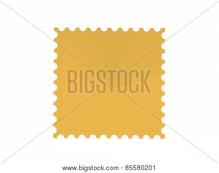 Postage stamp 3d