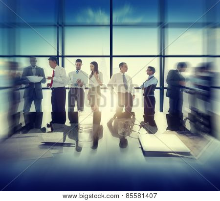 Diversity Business People Corporate Discussion Meeting Concept