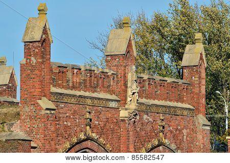 Friedland Gate. Kaliningrad (koenigsberg Before 1946), Russia