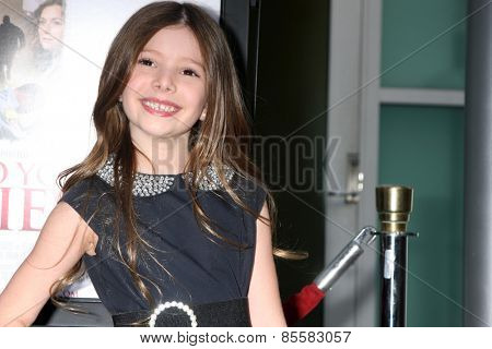 LOS ANGELES - MAR 16:  Makenzie Moss at the