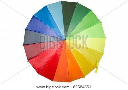 Rainbow Umbrella  high quality studio photo shoot