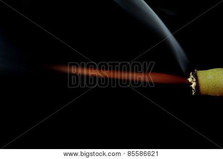 Burning Firecracker