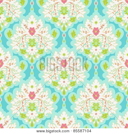 Colorful Damask