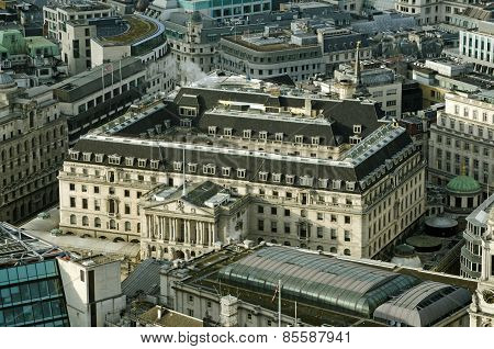 Bank of England, Aerial View