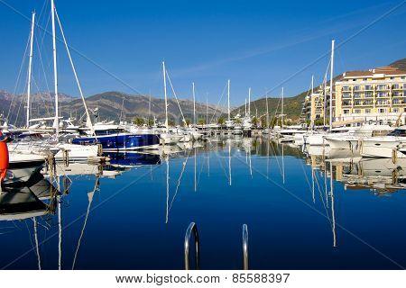 Porto Montenegro. Tivat City