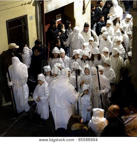 Holy Week In Sardinia