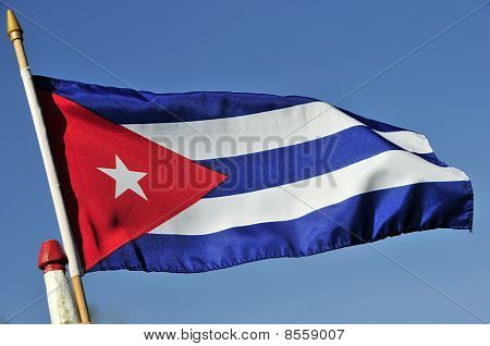 Cuban national flag