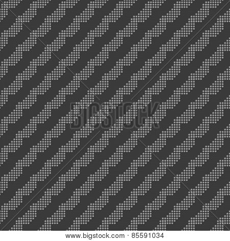 Monochrome Pattern With Gray Dotted Diagonal Lines