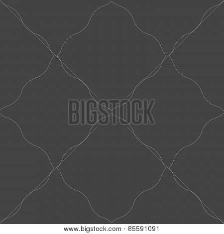 Monochrome Pattern With Gray Wavy Net