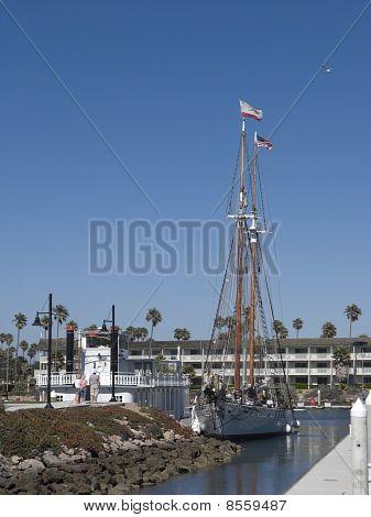 Double Masted Schooner