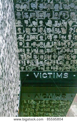 Hungary - Budapest - July 2010:  Museum Of Terror - Memorial Of The Victim  Nazi-fascist Regime
