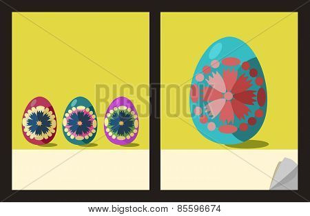 Notepad cover templates with easter eggs