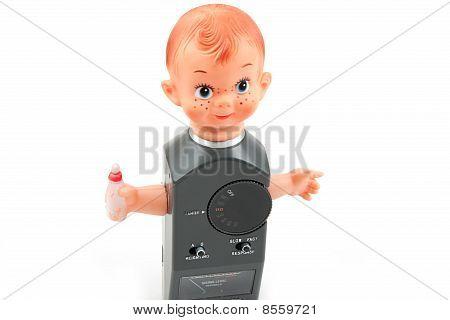 Bebê decibelímetro