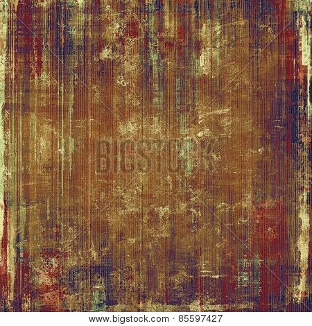 Grunge texture, distressed background. With different color patterns: yellow (beige); brown; gray; blue