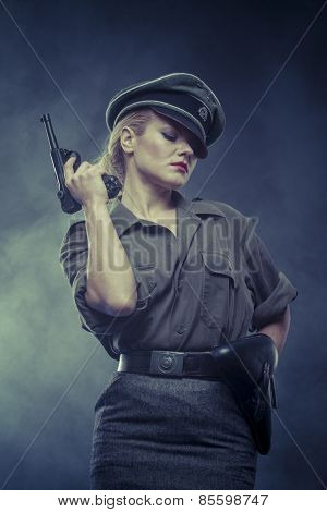 wwii, Official German woman, representation of tyranny and oppression