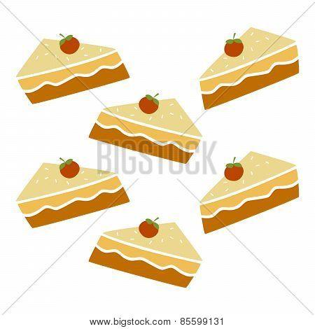 Pie Cake Pattern