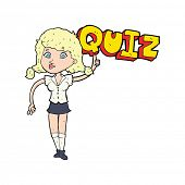 image of quiz  - quiz sign cartoon - JPG
