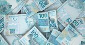 foto of brazilian money  - A macro close - JPG