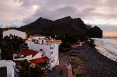 image of canary  - Sea Village at the Spanish Canary Islands - JPG