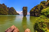 picture of james bond island  - Bay in the Andaman Sea - JPG