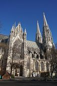 picture of neo  - Votiv Church Neo Gothic style in Vienna Austria - JPG