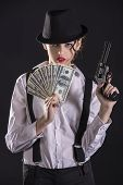 picture of gangster  - Beautiful and dangerous - JPG
