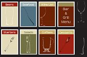 A Steakhouse Menu Concept