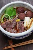foto of buckwheat  - kamo nanban soba - JPG