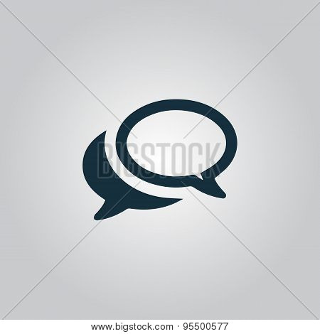 Chat or Dialogue Icon